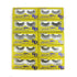 6D Mink Eyelashes False Full Strip Lashes D-12
