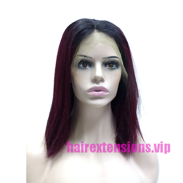 lace frontal bob cut wig