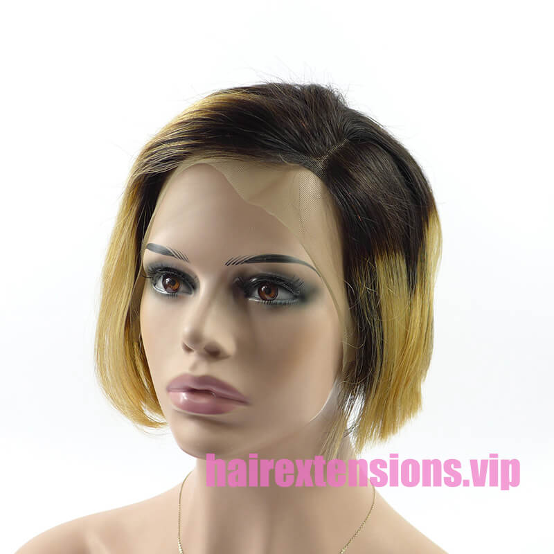 Colored Pixie Wig