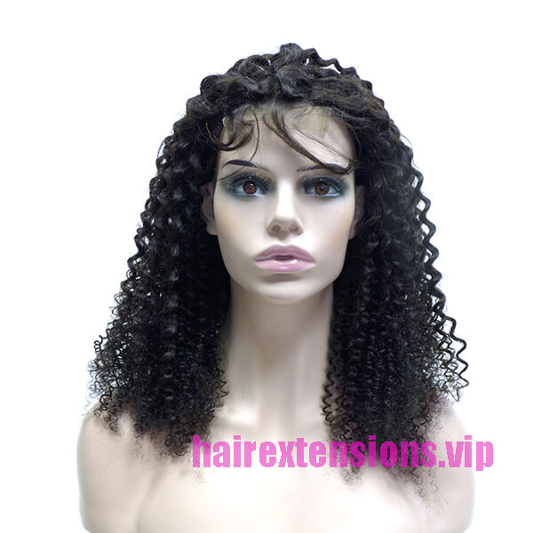 Kinky Curly Closure Wig