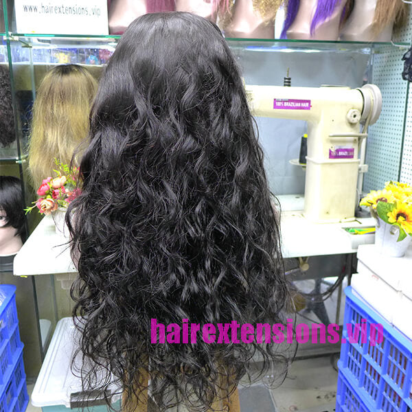 Lace Front Wig Human Hair Body Wave 28 inch High Density