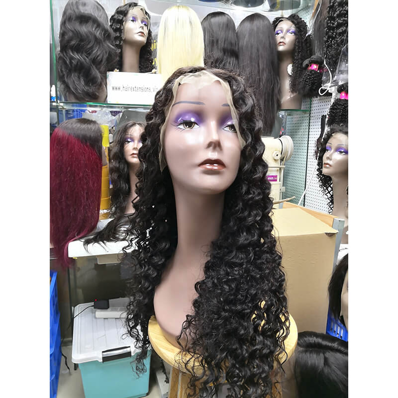 Deep Curly Lace Front Wig for Women