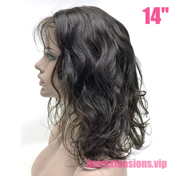 "High density  4*4"" closure lace wig Body Wave"