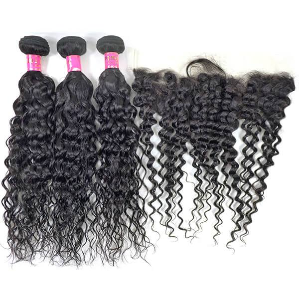 Water Wave Virgin Peruvian Hair