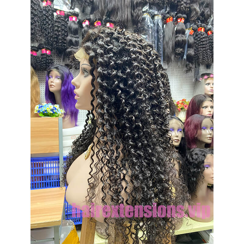 Big Curly Lace Front Wig