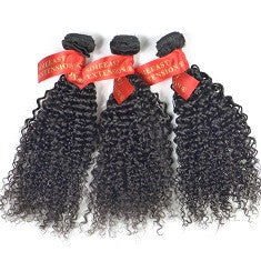 100g 1 pcs Kinky Curly brazilian weave bundles Grade High  No Tangle No shelding