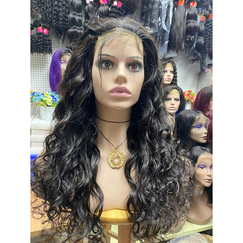 Remy Human Hair Wig Loose Wave 26 inch