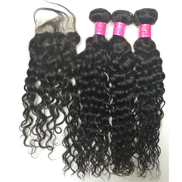 peruvian hair water wave