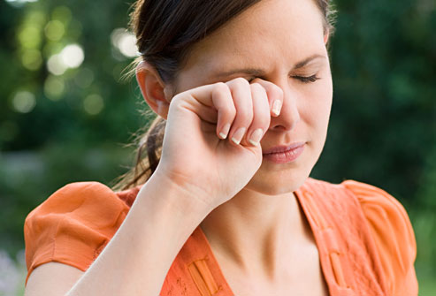 Stop rubbing your eyes! keeping hands away from these areas can help prevent individuals from spreading their germs to others.