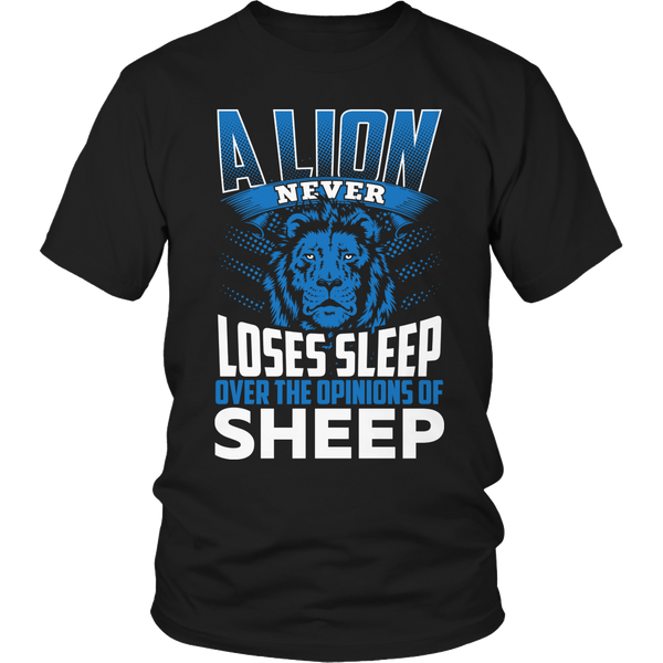 A Lion Never Loses Sleep Over The Opinion of Sheep - My MLM Shop