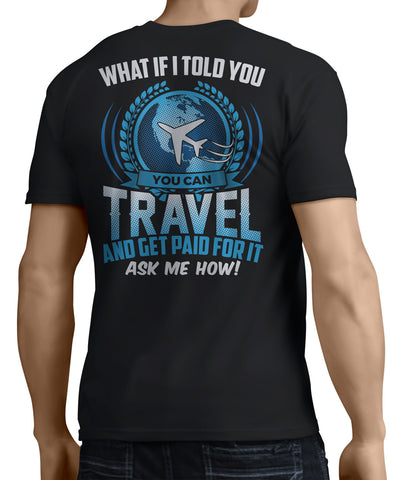 Travel And Get Paid For It (Back Side) - My MLM Shop