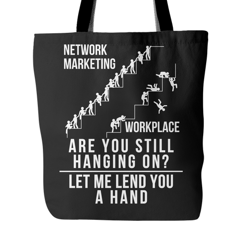 Let Me Lend You A Hand - Tote Bag - My MLM Shop