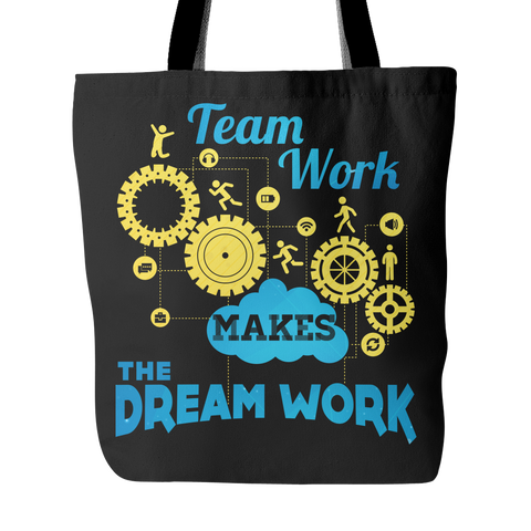 Team Work Makes The Dream Work - Tote Bag - My MLM Shop