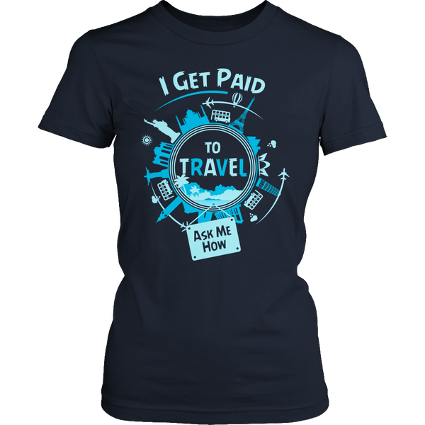 Get Paid To Travel - Ask Me How!