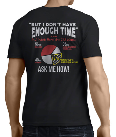 But I Don't Have Enough Time (Back Side) - My MLM Shop