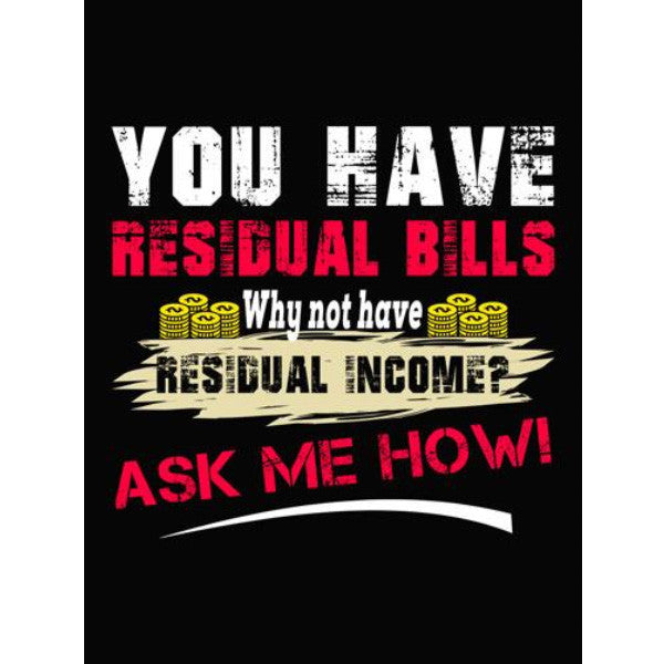 Want Residual Income? Ask Me How! - Sticker - My MLM Shop