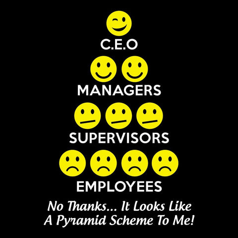 Pyramid Scheme - Sticker - My MLM Shop