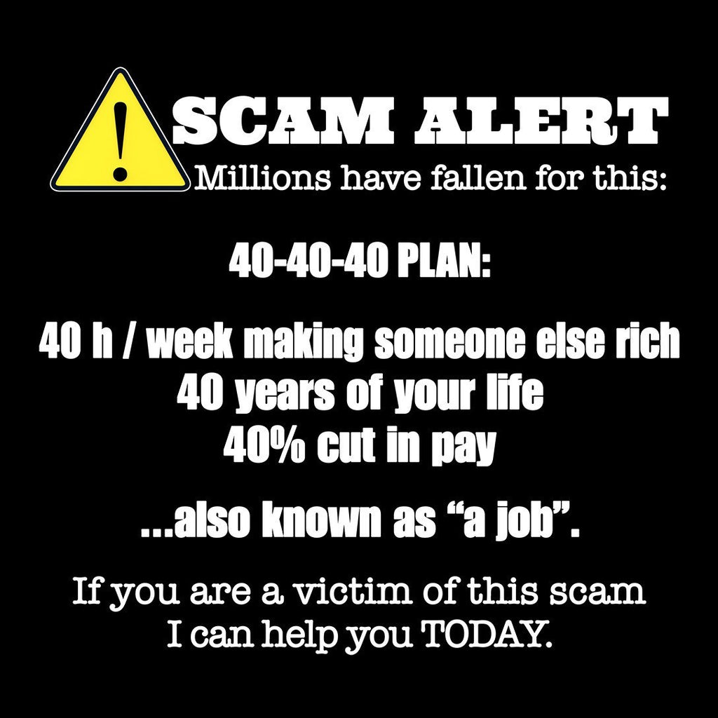 Scam Alert - Sticker - My MLM Shop