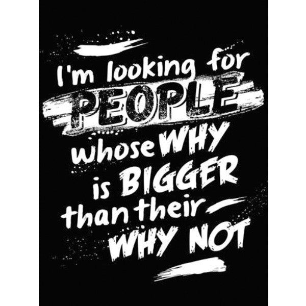 People Whose Why Is Bigger - Sticker - My MLM Shop