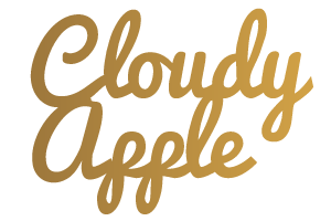 Cloudy Apple