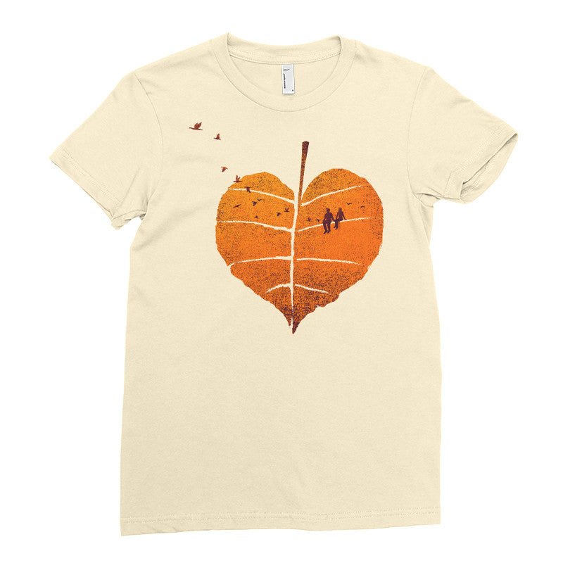 A Leaf In Love - T-Shirt
