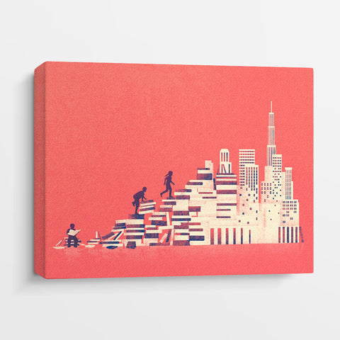 Book City - Canvas