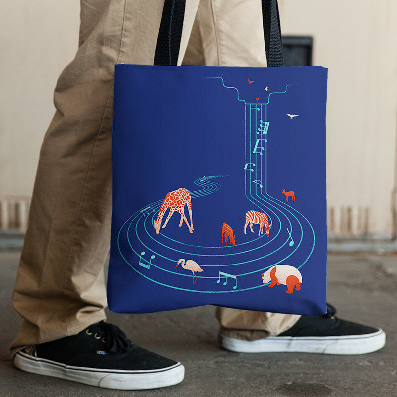 Comforting Sounds - Tote Bag