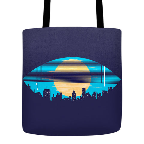 Day vs Night - Tote Bag