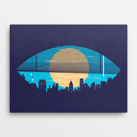 The Hanging City - Canvas