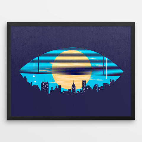 Eye On The City - Art Print