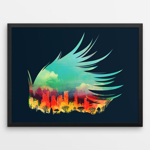 In Flying Colours - Art Print