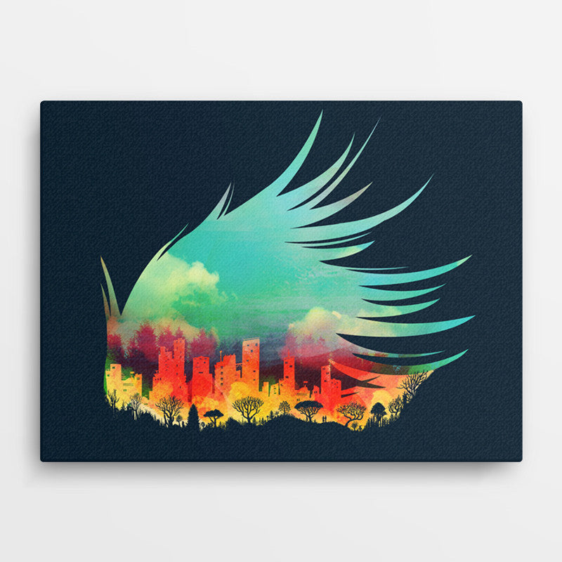 In Flying Colours - Canvas
