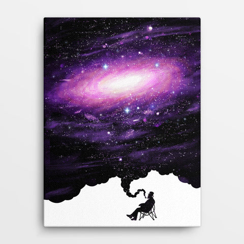 Space Carousel - Canvas