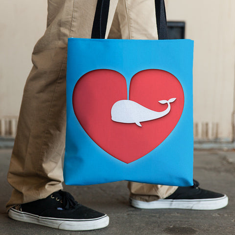 Love Is All Around - Tote Bag
