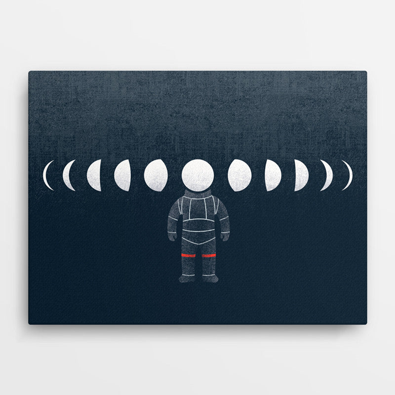 Moon - Canvas