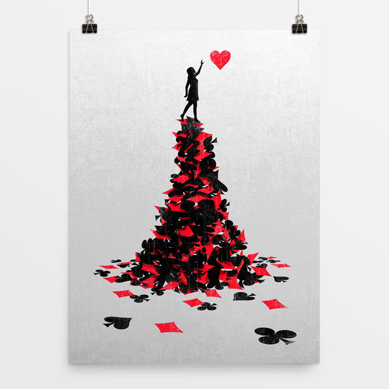 Reach For The Love - Art Print