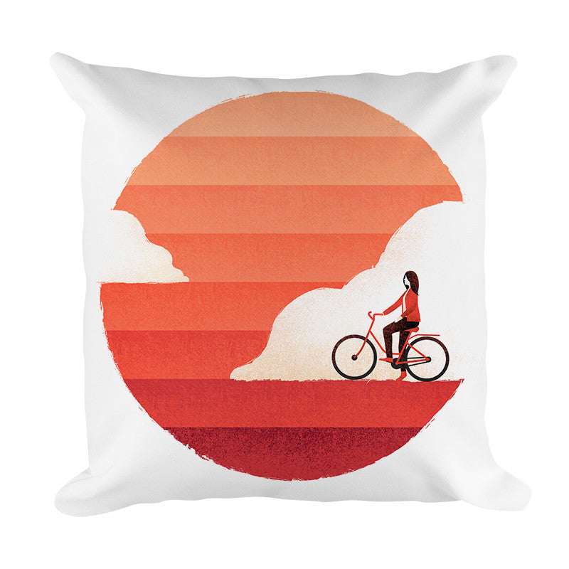 Riding On Sunshine - Pillow