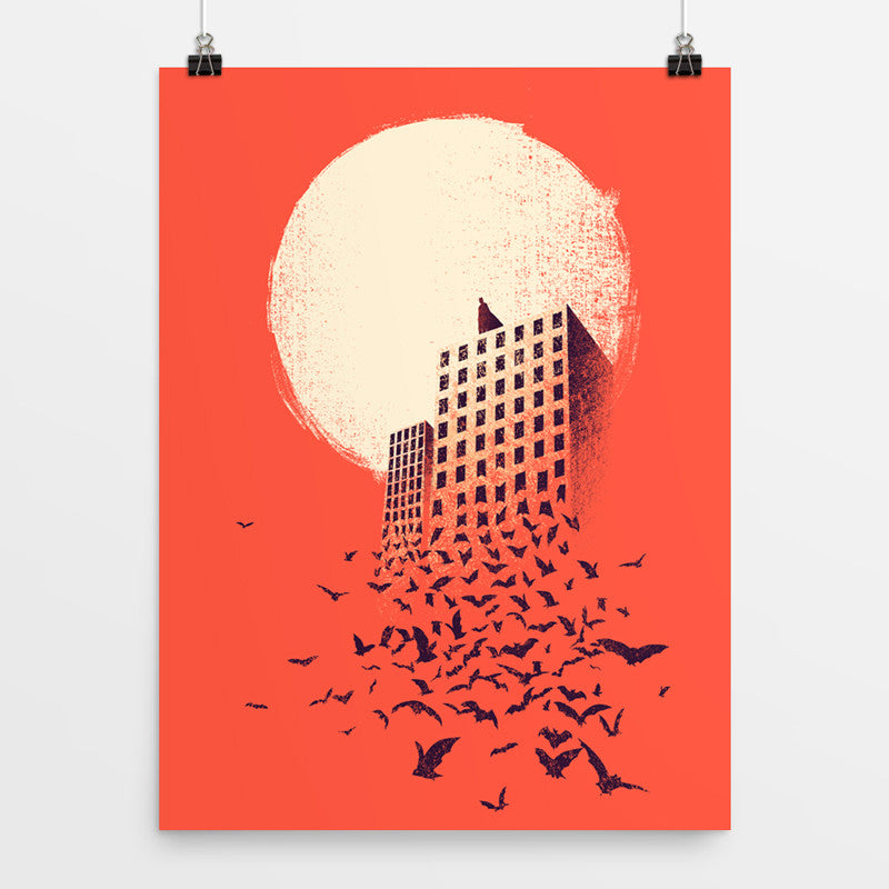 The Dark Knight - Art Print
