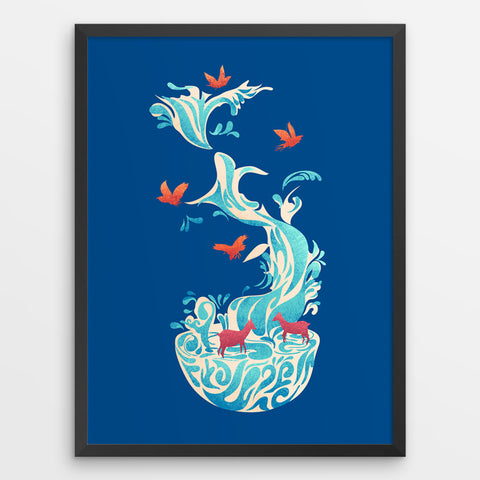 Water Of Life - Art Print