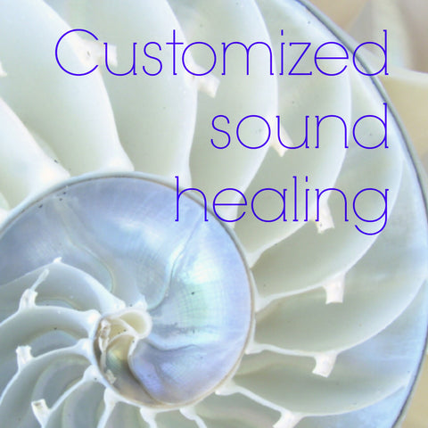 Customized sound healing