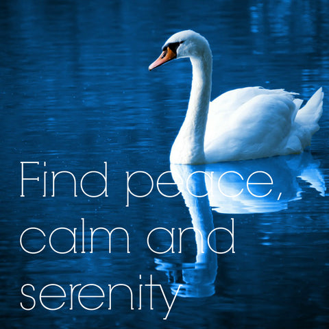 Find peace, calm, and serenity