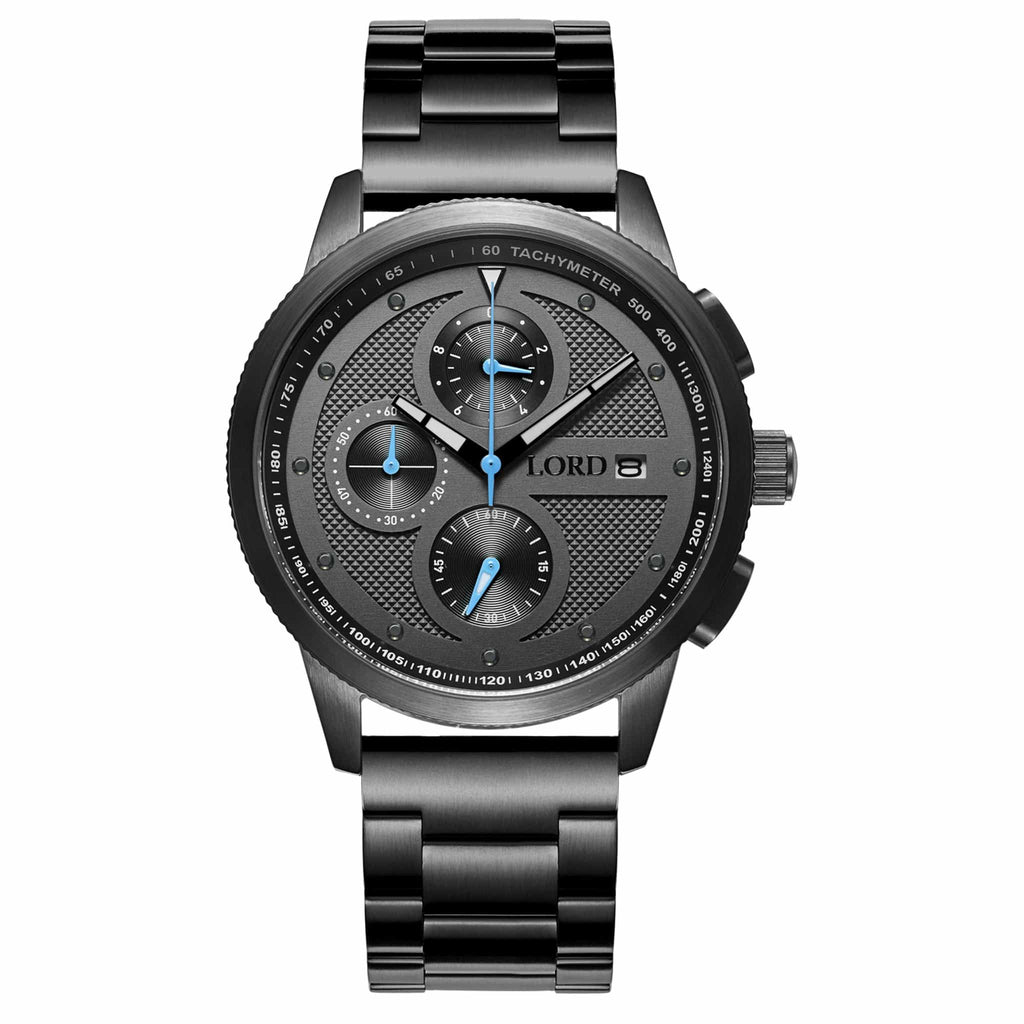Lordtimepieces-Chrono-Gunmetal-watch-front
