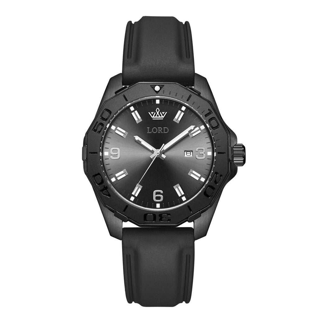 Lordtimepieces-Sport-Classic-Black-watch-Front