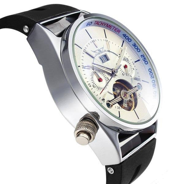 Arctic Watch with tourbillon movement Side Shoot