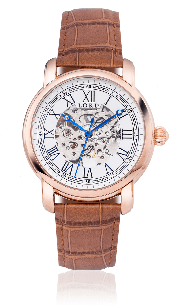 White Gold Heritage Watch | Men's Watches |  Lord Timepieces