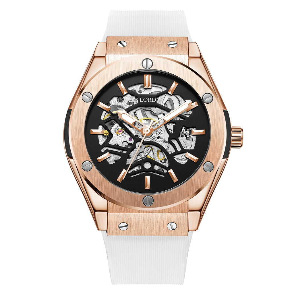 Bolt White Rose Gold