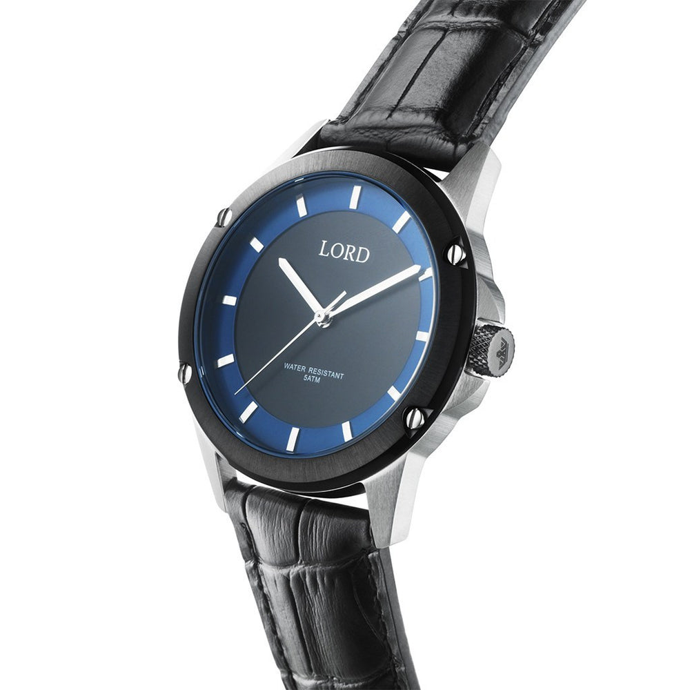 Black-Blue-Silver-Watch-3D