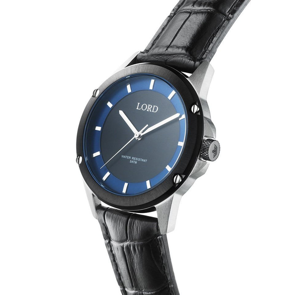 Black-Blue-Silver-Watch-Men's-Watches-Lord-Timepieces-2