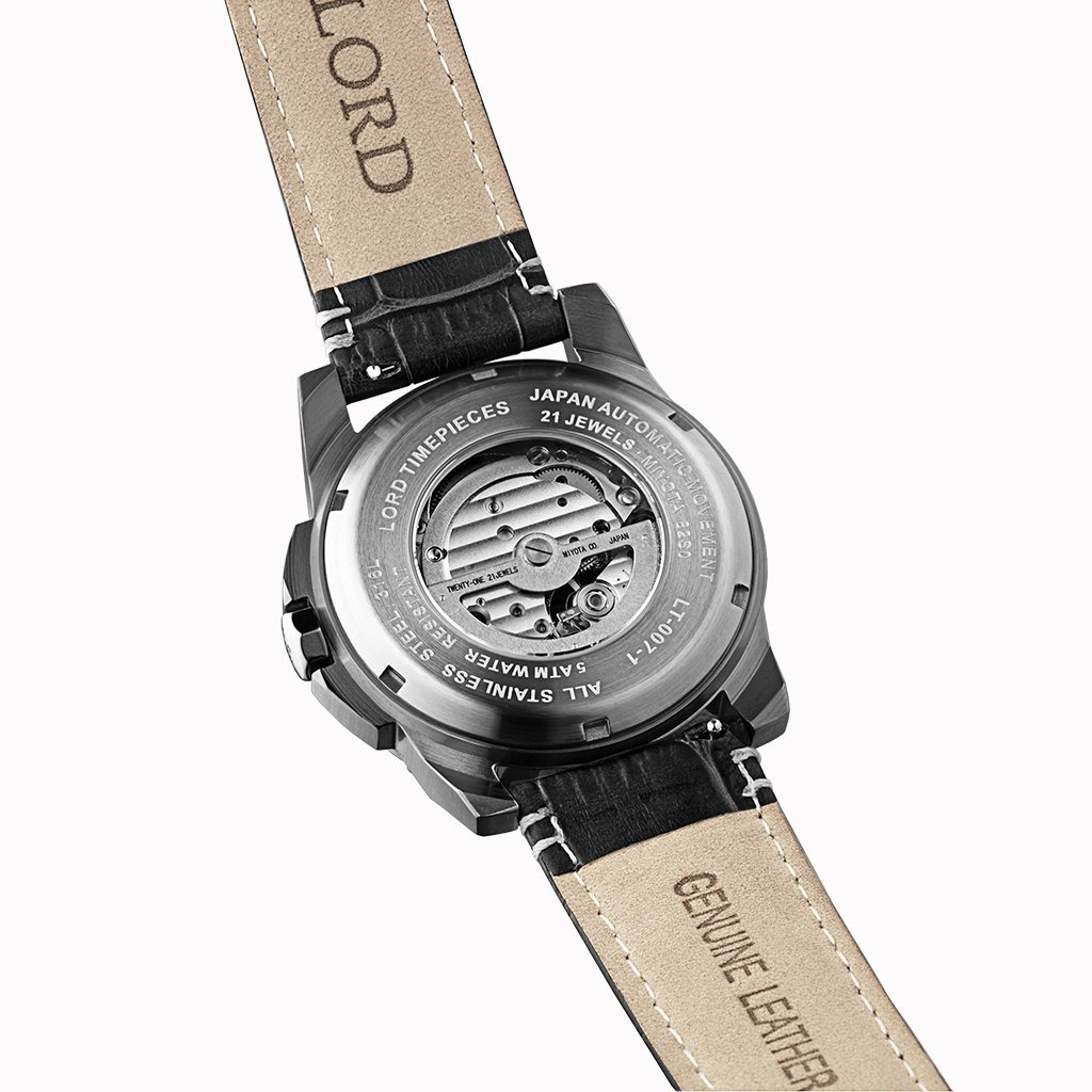 Lordtimepieces-Orion-Gunmetal-Leather-watch-back