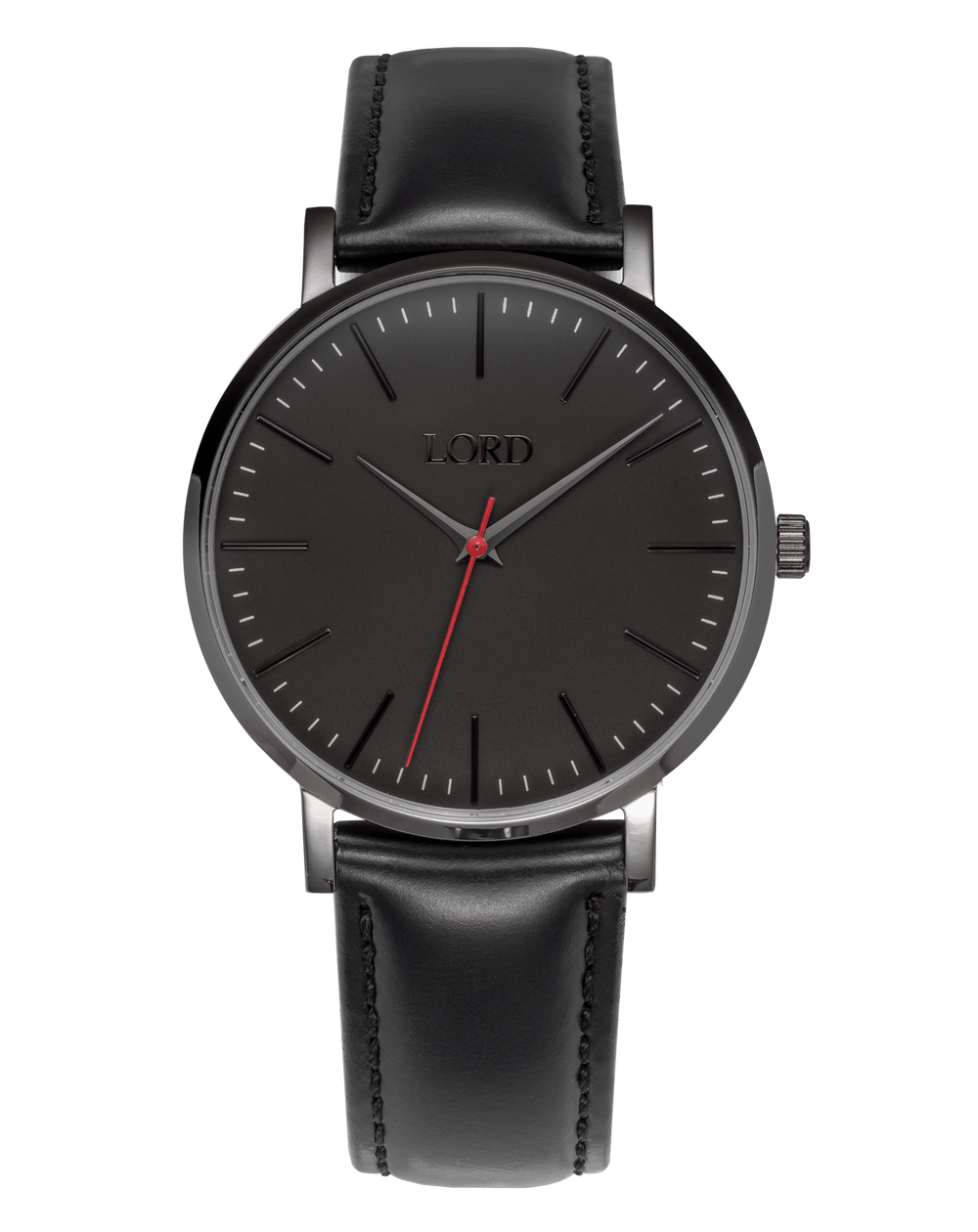 Midnight Black Watch | Men's Watches | Lord Timepieces